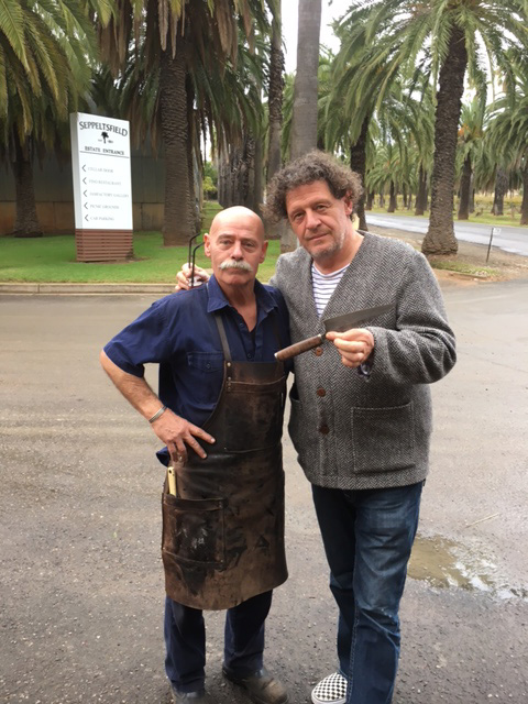Marco Pierre White with Baz May 2017