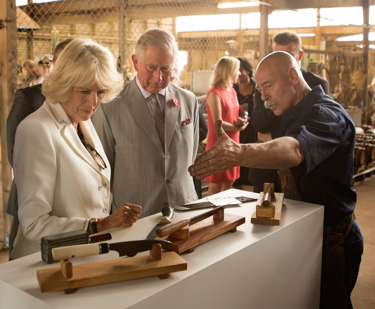 Prince Charles, Camilla and Baz